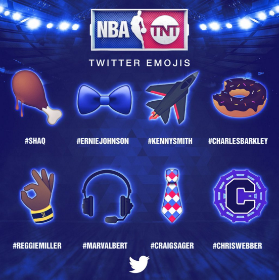Twitter Unveils Custom Emojis for NBA All Star Games
