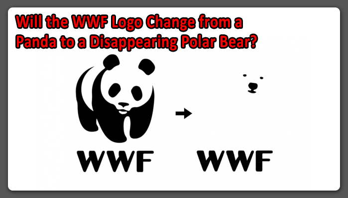 will the wwf logo change from a panda to a disappearing polar bear